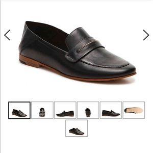 leather aldo loafers